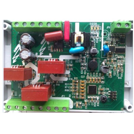 Router energii odnawialnej - układ opomiarowania budynku GER3FCS