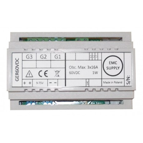Router energii odnawialnej GER60VDC